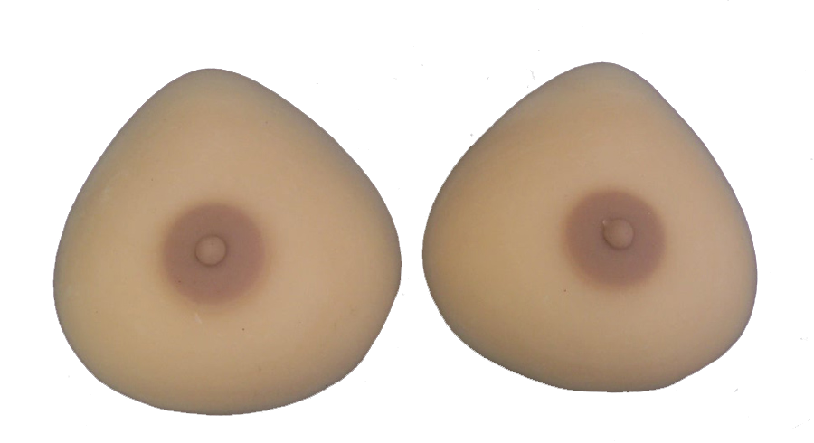 Non silicone breast forms