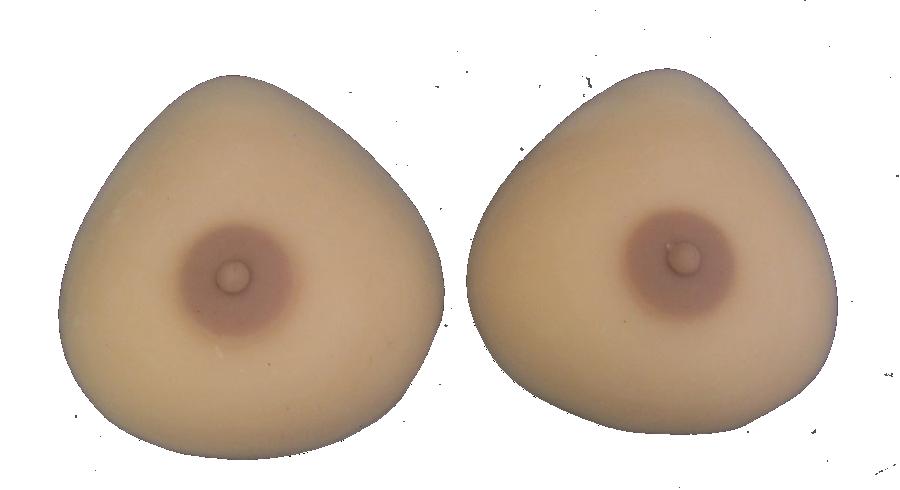 Non silicone breast forms