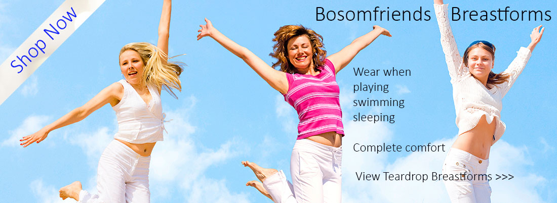 Women Playing Bosomfriends Breastforms
