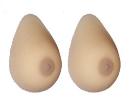 Teardrop False Breasts Non Silicone